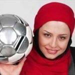 کل کل مهراوه شریفی نیا با استقلالیها پیس از دربی