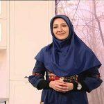 ژست متفکرانه خانم گلاره جباری مجری سرشناس در اینستاگرامش