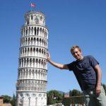 علت کج شدن برج پیزا ، مشهورترین برج کج دنیا چیست؟!