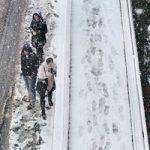 برف بهاری در ارتفاعات تهران | ادامه بارش برف و باران در کشور