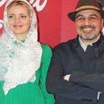 رضا عطاران و بازیگر خارجی در اکران مردمی فیلم «مصادره»