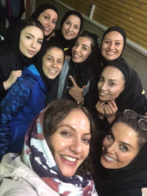 بازی فوتسال بانوان ایران و اوکراین