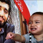 جشن تولد فرزند شهید محسن حججی در منزل شهید