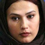 لادن مستوفی همسر کارگردان معروف در اتاق گریم