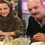 جشن تولد ۵۹ سالگی ایرج طهماسب در کنار همسر و دخترانش!