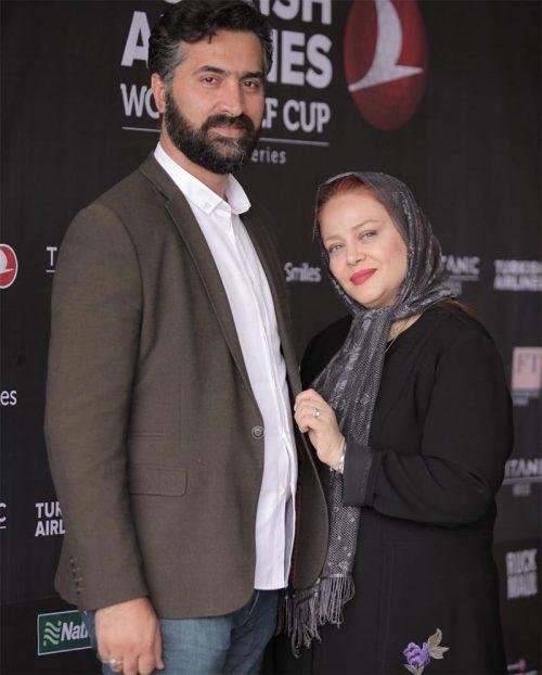 تیپ بهاره رهنما و همسرش