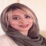 تصویری از گریم متفاوت و عروس وار خانم بازیگر ایرانی