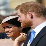 تیپ شاهزاده هری و همسرش مگان در اولین حضور سلطنتی!