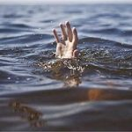 تصاویری از غرق شدن دو جوان در آب های خلیج فارس