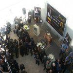 مراسم تشییع ناصر ملک مطیعی با حضور گسترده هنرمندان و مردم!
