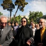 مراسم تشییع پیکر ناصر چشم آذر با حضور اهالی هنر و موسیقی