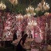 تصاویری از مراسم عروسی با شکوه زن طراح لبنانی با یک میلیاردر!