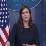 مشت زنی سخنگوی کاخ سفید به صورت بازیگر هالیوودی