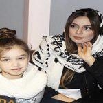 جشن تولد چهار نفره شایلی محمودی همسر دوم بنیامین بهادری