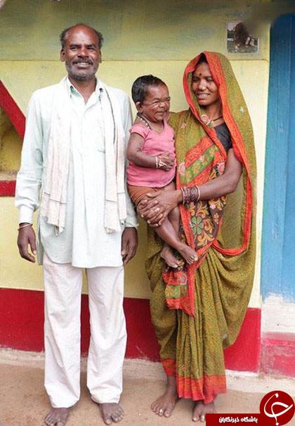 کوچک ترین پیر مرد دنیا