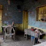 شهر ارواح بعد از بارش خاکسترهای آتشفشان