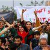 شور و شوق دختران و زنان ایرانی حین تماشای بازی ایران و مراکش!