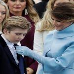 تهدید ملانیا ترامپ و پسرش بارون توسط بازیگر مشهور آمریکایی!