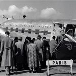 تصاویری جالب و قدیمی از صندلی های یک هواپیمای مسافربری