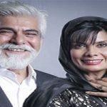 تیپ عاطفه رضوی در کنار همسرش حسین پاکدل