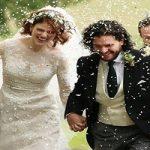 تصاویری از مراسم عروسی کیت هرینگتون و رز لزلی , دو بازیگر بازی تاج و تخت!