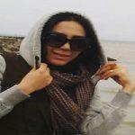 تیپ فرناز امینی بازیگر زن ایرانی در ورزشگاه روسیه!