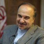 خوشحالی مسعود سلطانیفر وزیر ورزش بعد از گل ایران