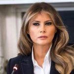 لباس عجیب ملانیا ترامپ بانوی اول آمریکا که جنجالی شد!!