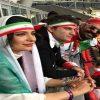 تصاویر منتشر شده از هنرمندان معروف ایرانی در ورزشگاه کازان روسیه