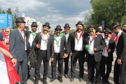 هواداران ایرانی در سن پترزبورگ