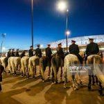 حضور پلیس های اسب سوار در جام جهانی ۲۰۱۸