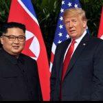 پیاده روی ترامپ و کیم جونگ اون بعد از ناهار