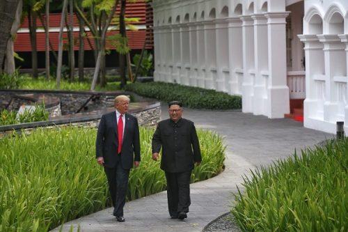 پیاده روی ترامپ