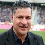 پیام منتشر شده علی دایی بعد از بازی ایران و اسپانیا