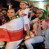 تصاویری دیدنی از شادی مردم تهران پس از پیروزی تیم ملی
