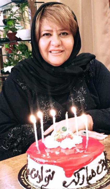 جشن تولد رابعه اسکویی