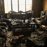 تصاویری از آتش سوزی یک منزل مسکونی در مشهد با ۳ کشته!!