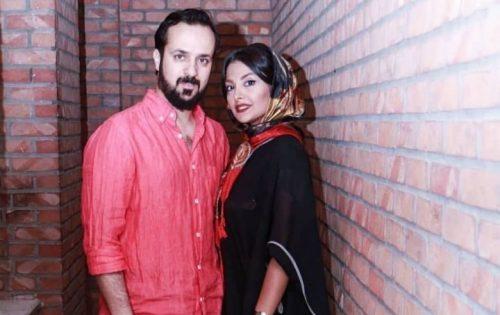 احمد مهرانفر در کنار همسرش