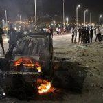 تصاویری از تصادف نفتکش با اتوبوس در سنندج با ۱۳ کشته!!