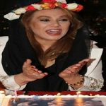 جشن تولد ۵۰ سالگی نسرین مقانلو در رستورانی در تهران!