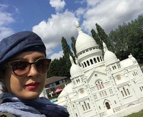 حدیثه تهرانی در بلژیک