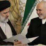 دیدار ظریف با رئیسی و هدیه ویژه او به آستان قدس رضوی!