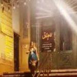 زنی که مقابل مسجد رقصیده بود دستگیر شد!!