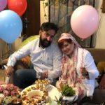 جشن اولین سالگرد ازدواج بهاره رهنما و امیر خسرو عباسی!
