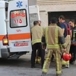 تصاویری از سقوط دختر ۱۳ ساله از طبقه چهارم منزل در تهران!!