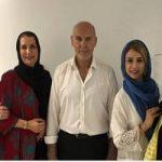 عیادت جمعی از بازیگران معروف از جمشید مشایخی در بیمارستان