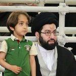 سید میثم خامنهای کوچکترین فرزند رهبر و خانواده اش در رستوران