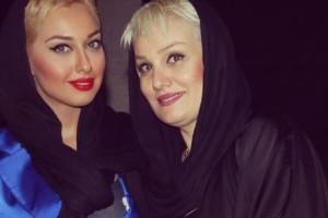 مصاحبه با یکتا حق بین مادر ثروتمند صدف طاهریان!!