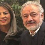 تصویری از مجید مشیری و همسرش با لعیا زنگنه در پشت صحنه پدر!