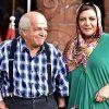عکسی تکاندهنده از محسن قاضی مرادی کنار همسرش مهوش وقاری!